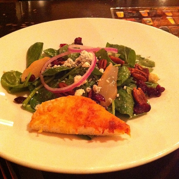 Spinach Salad @ Saul Good