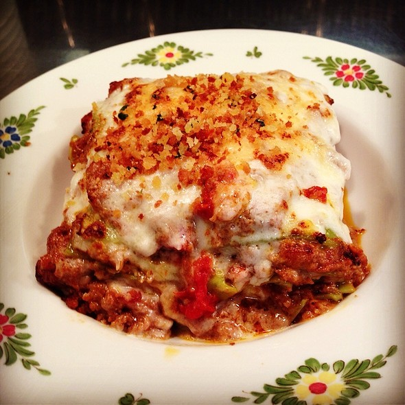 Lasagna Verde A Bolognesa @ Osteria Morini