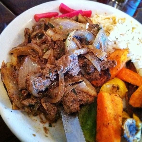 Chicken Livers @ Sheshco Mediterranean Grill