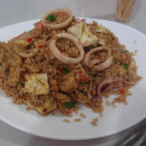 Chaufa de Mariscos (Seafood)  @ Rinconcito Peruano