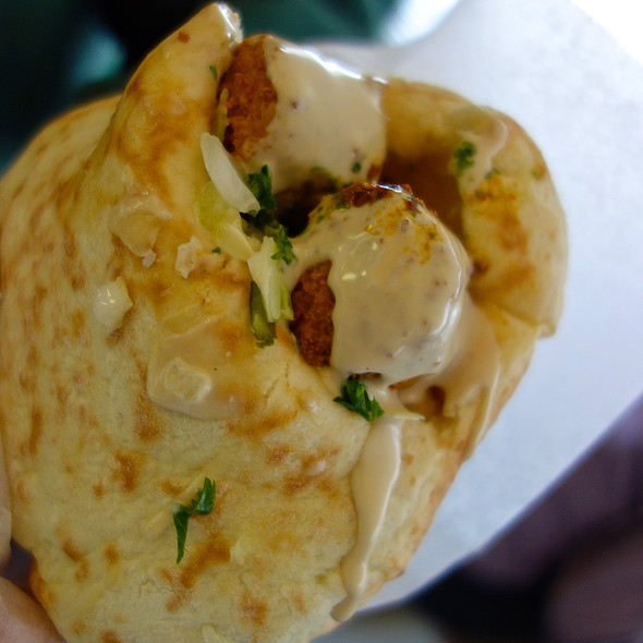 Falafel Plate @ Falafel STOP