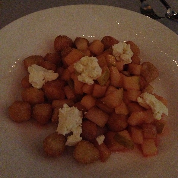 Sweet Gnocci With Rock N Rye Apples And Formage Blanc - Reserve Wine & Food, Grand Rapids, MI