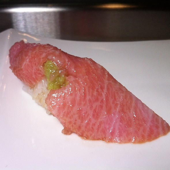 Bluefin Toro Nigiri @ Shokudo Japanese Restaurant & Bar