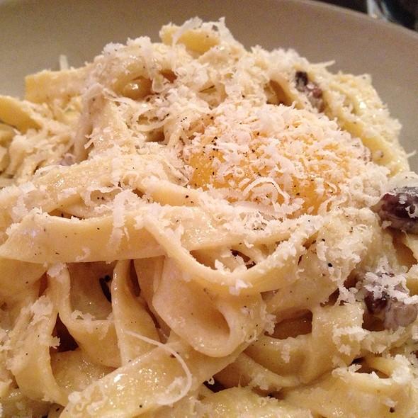 Pasta Special. Carbonara With Egg Yolk.  - Cibo Trattoria, Vancouver, BC
