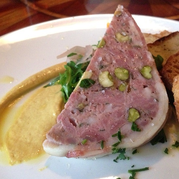 Duck and Pistachio Terrine @ Toulouse Petit