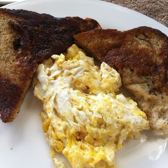 French Toast And Eggs @ Pavilion Restaurant