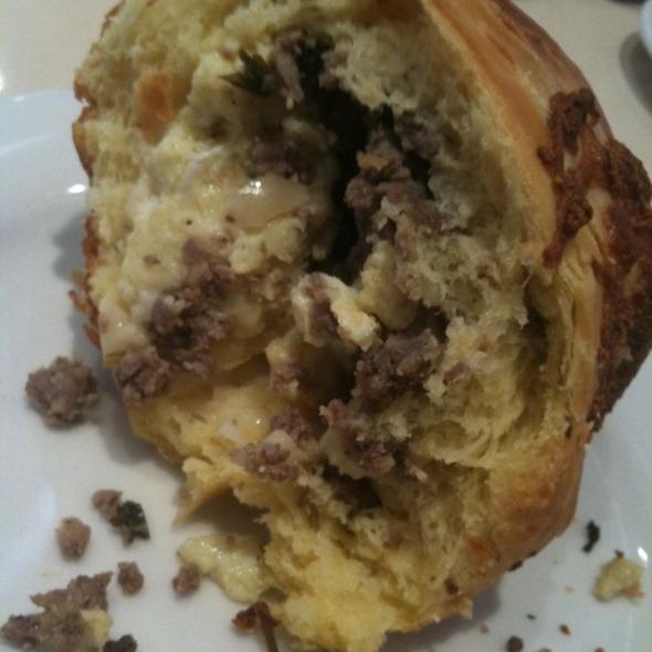 Sausage Brioche @ Buzz Bakery