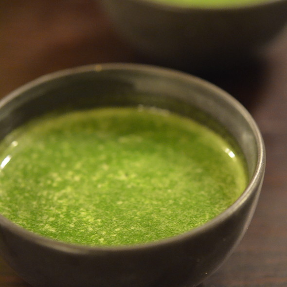 Parsley broth @ Le Chateaubriand