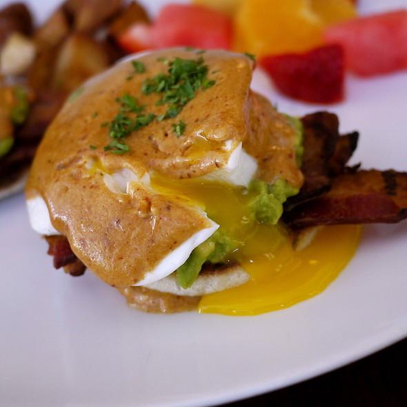 Bacon & Avocado Benedict  @ The Raymond Restaurant
