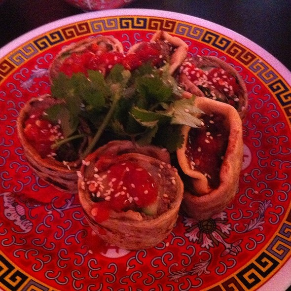Beijing Beef Pancakes @ Mission Chinese Food