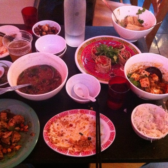 Table Of Happiness @ Mission Chinese Food