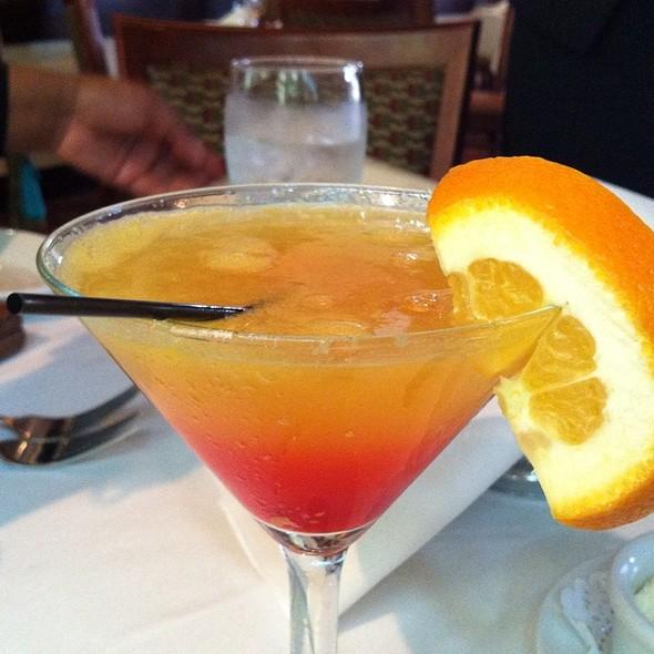 Georgia Peach Martini
