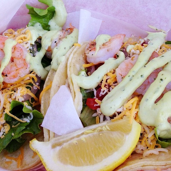 Shrimp Tacos @ Splash Cafe The