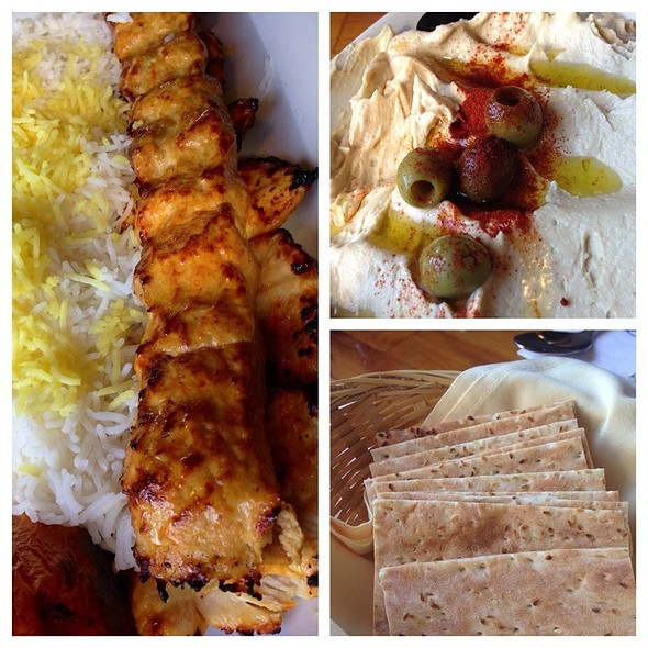 Chicken Koobideh @ Bahar Restaurant
