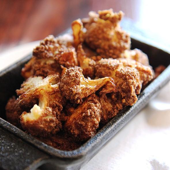 Flash Fried Cauliflower