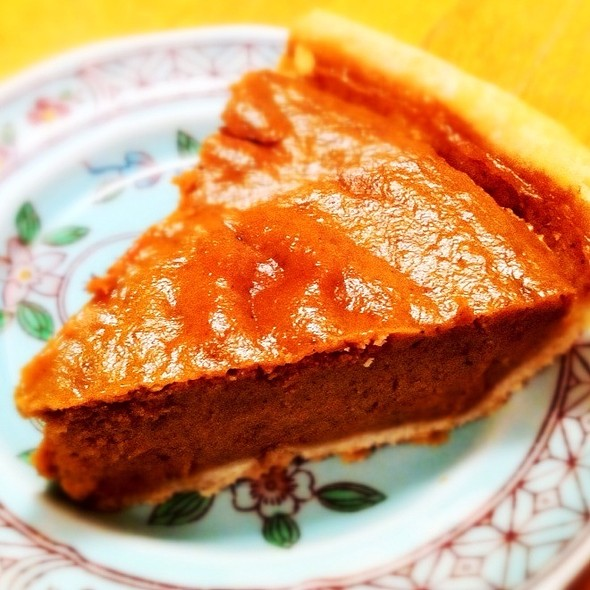 Pumpkin Pie @ MacKenzies Cafe & Bakery