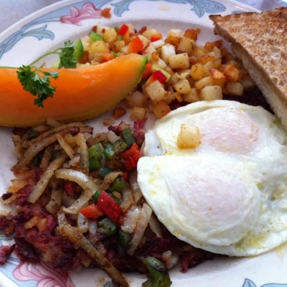 Peg's Glorified Ham & Eggs Menu - Reno, NV - Foodspotting