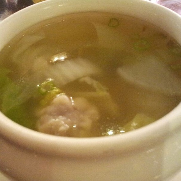 Wonton Soup @ ten ren's tea time