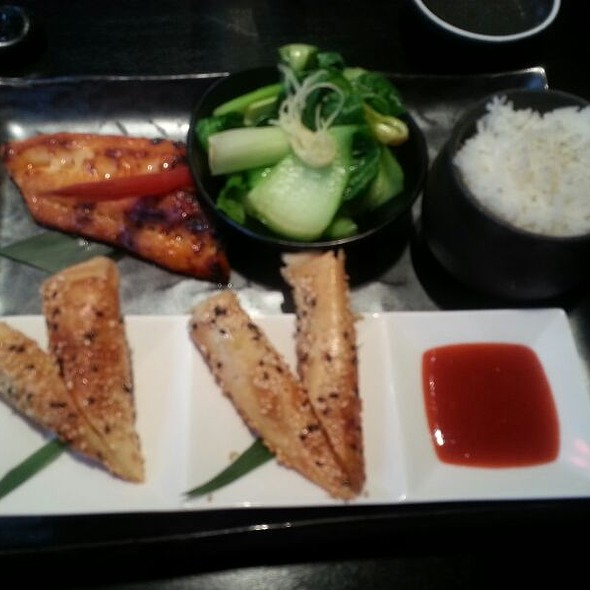 Chino Bento With Miso Black Cod @ Chino Latino