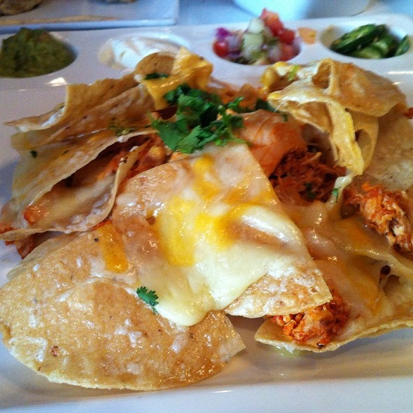 Chicken Nachos @ J.Paul's