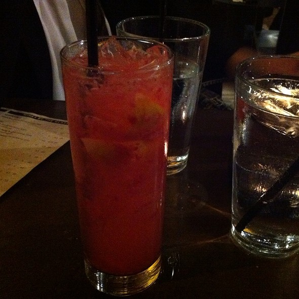 """""""The National"""" Cocktail @ Redwood Restaurant and Bar"""