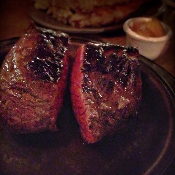 Medium Rare Sirloin  Steak - Lindey's Prime Steak House, Arden Hills, MN