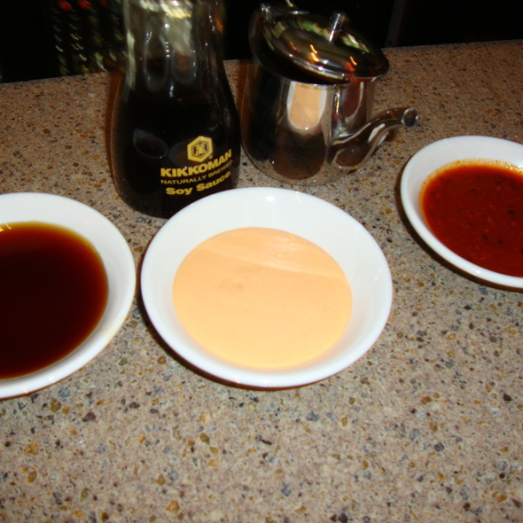 5 Sushi Dipping Sauces @ Kumori