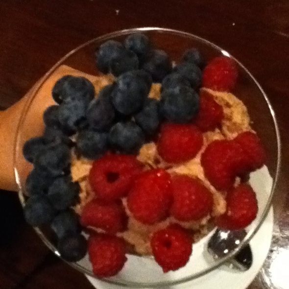 Martini Chocolate Mousse With Fresh Berries @ Mr V's Bar & Grill