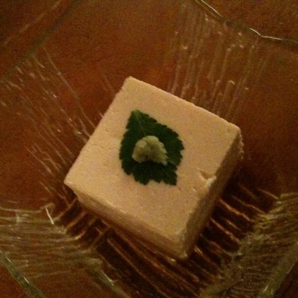 Goma Tofu @ Sobaya 蕎麦屋