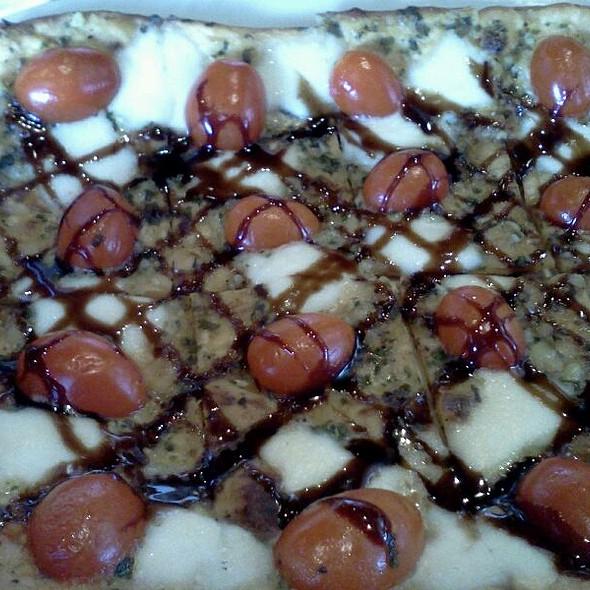 Tomato Basil Pesto Flatbread - The Edison, Fort Myers, FL