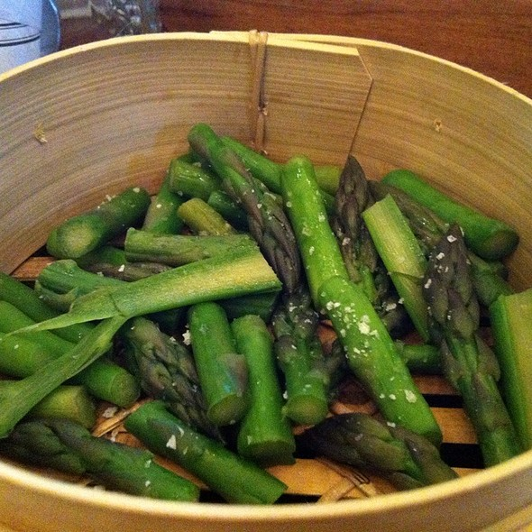 Steamed Asparagus @ Pickle Eating House & Bar