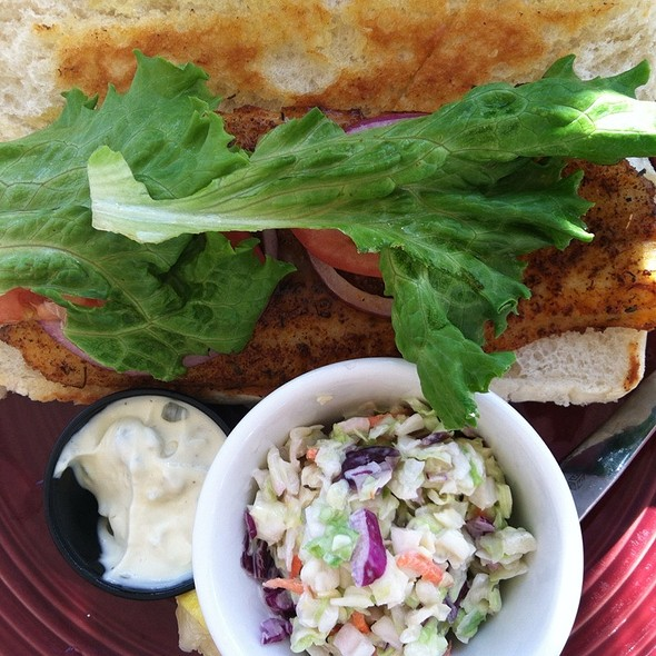 Blackened Basa - Catches Waterfront Grille, Port Richey, FL