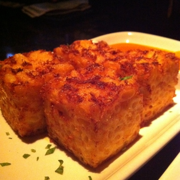Mac N Cheese Squares