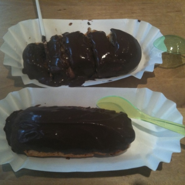 Chocolate Eclairs @ Dessert Club ChikaLicious