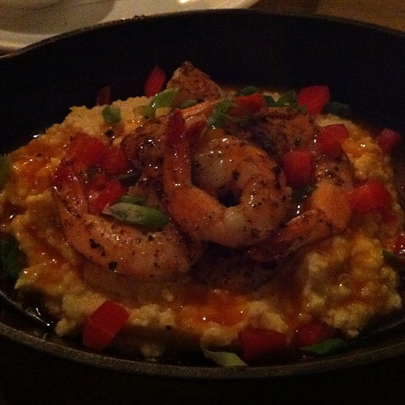 Shrimp and Grits @ Mosmans Restaurant