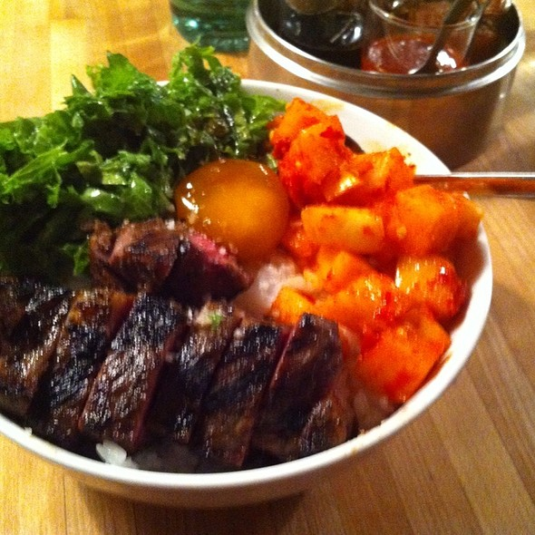 Short Rib Rice Bowl  @ Revel