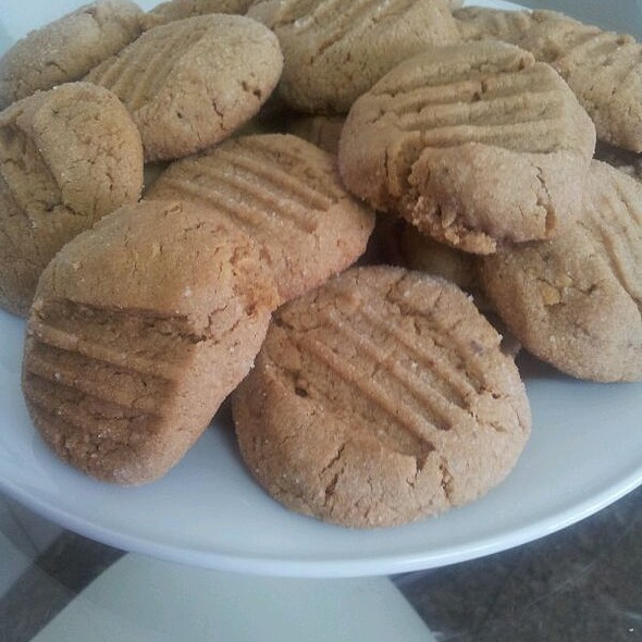 peanut butter cookied @ Home