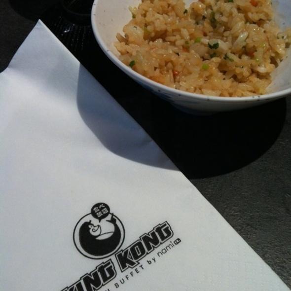 Garlic Fried Rice @ King Kong