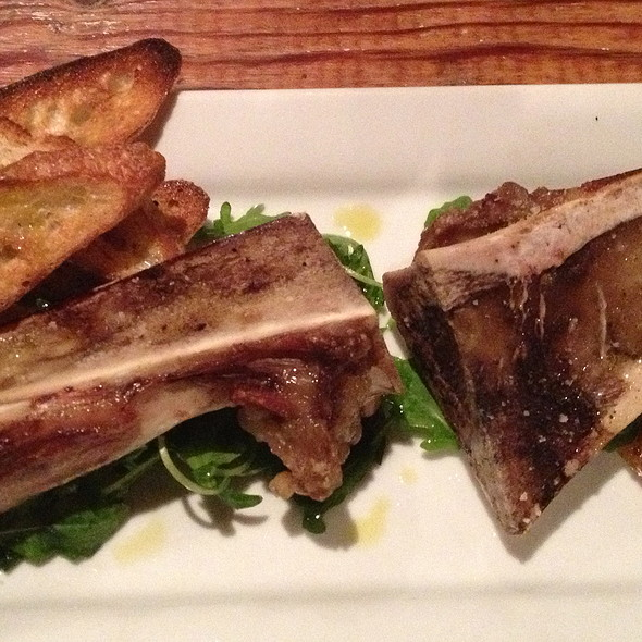Marrow Bone Citrus, Crostini's With Fig Spread, Pickled Onions And Bloody Oranges - Terra Plata, Seattle, WA