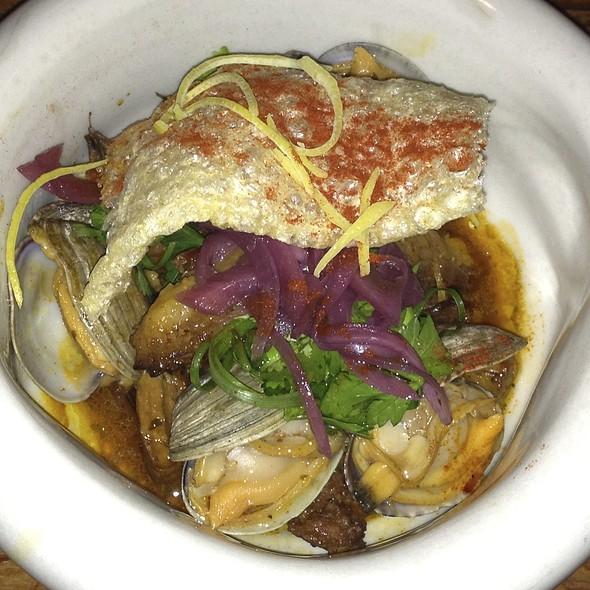 Roast Pig, Chorizo, Clams  - Terra Plata, Seattle, WA