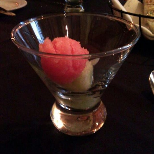 Watermelon Sorbet - Tiburon Fine Dining, Sandy, UT