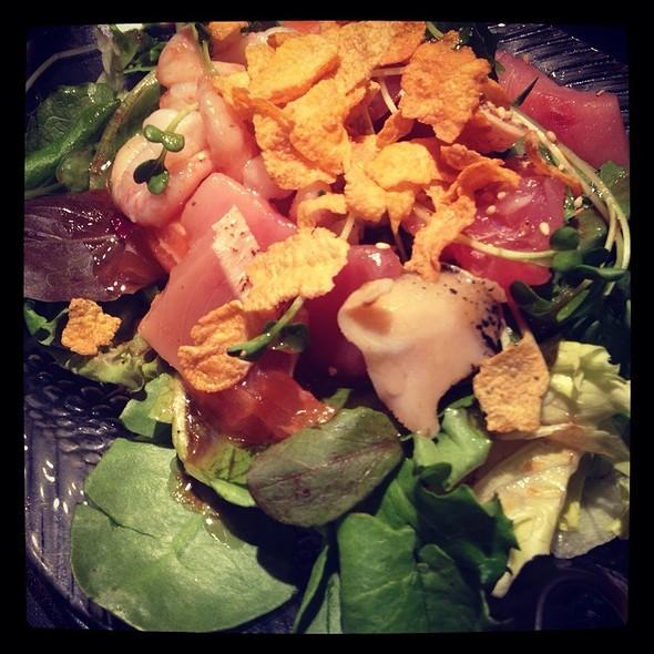 Sashimi Salad @ Ajisai Sushi Bar