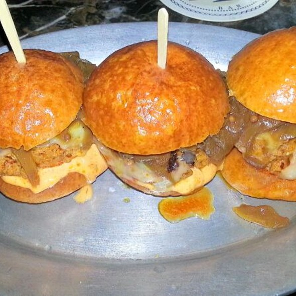 Chorizo Sliders