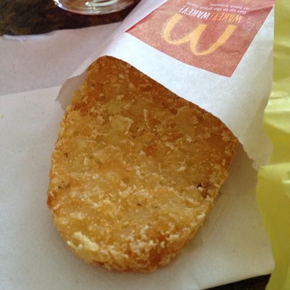 HASHBROWNS @ McDonald's