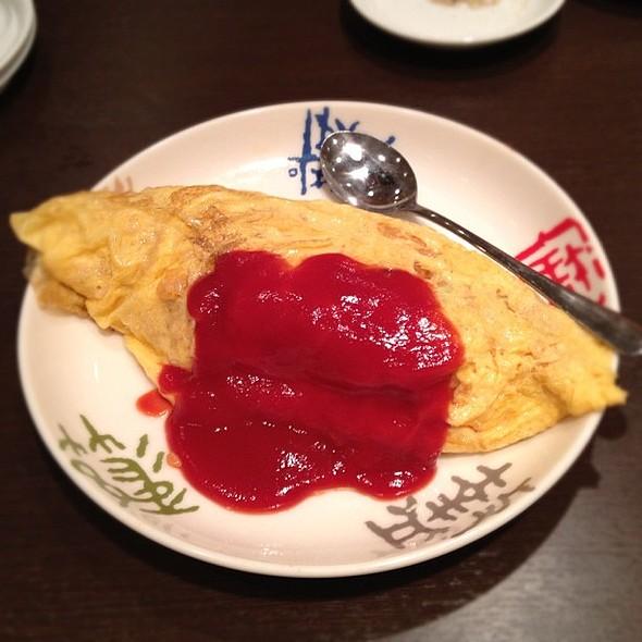Omuraisu (Rice Omelette)