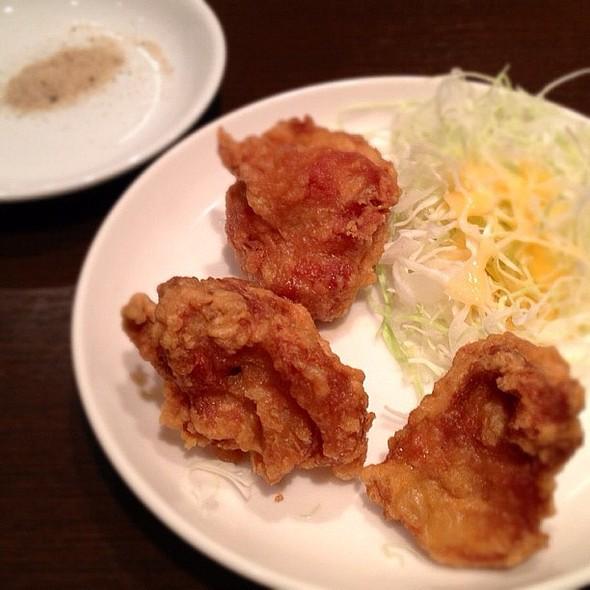 Tori No Karaage (Fried Chicken) - Close Up