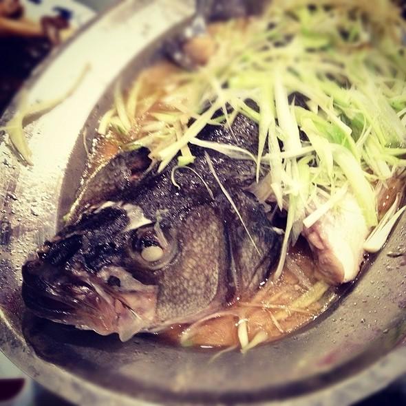 steamed fish @ Asian Legend Inc