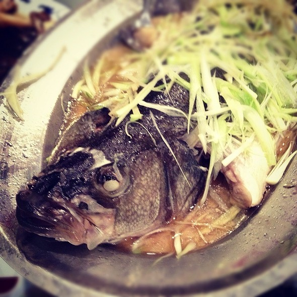 steamed fish @ Asian Legend Inc