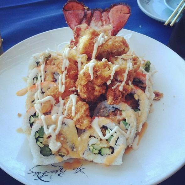 Mega Lobster Roll - The Blue Fish - Allen, Allen, TX
