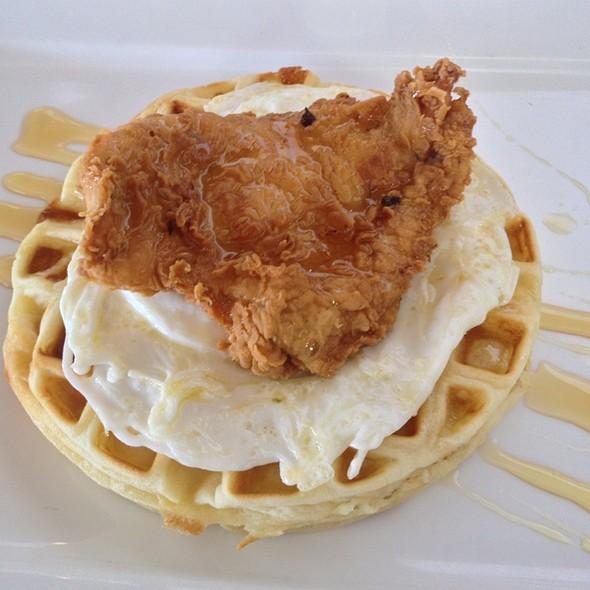 Chicken and Waffles - Zed's Restaurant, Austin, TX